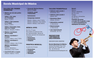 tallers musica